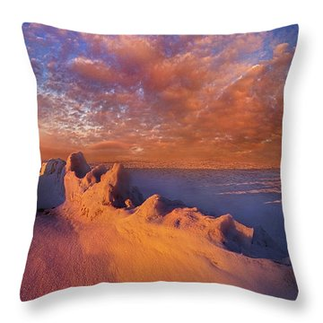 Throw Pillow featuring the photograph So It Begins by Phil Koch