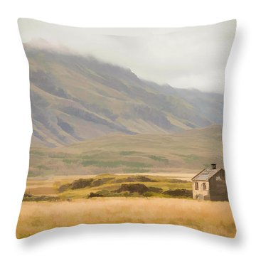 So Lonely Throw Pillow