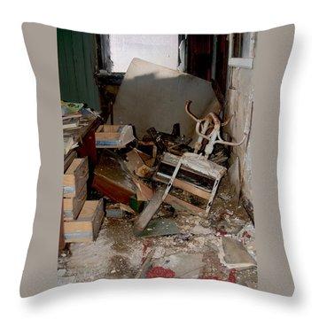 So Messy Throw Pillow