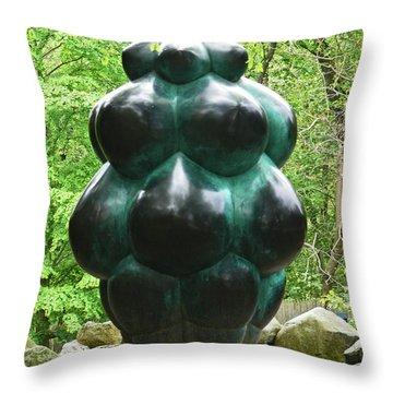 Manna Throw Pillow
