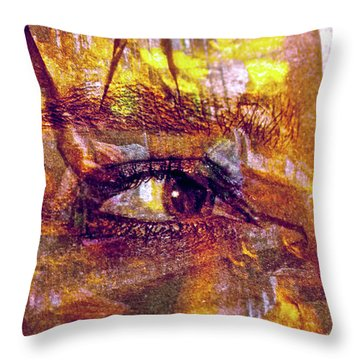 So Much To See Throw Pillow