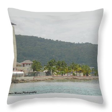 So Ocho Throw Pillow