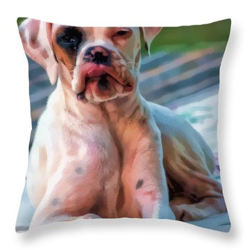 So Proud Throw Pillow