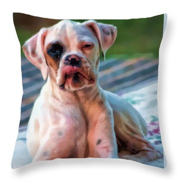 So Proud Throw Pillow
