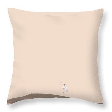 So Sand Throw Pillow