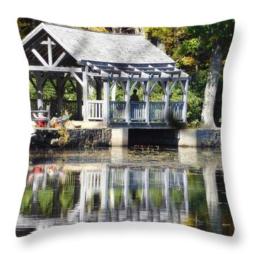 So Serene Throw Pillow
