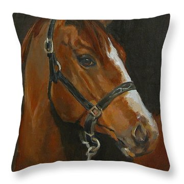 So Willing Throw Pillow
