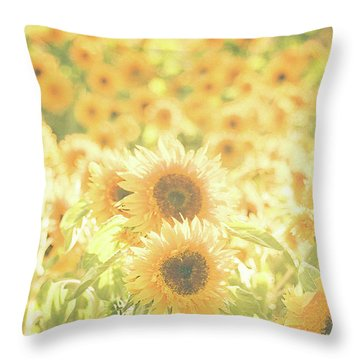 Soak Up The Sun Throw Pillow
