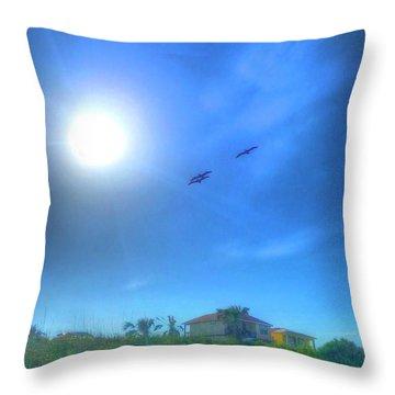 Soar Into The Light Throw Pillow