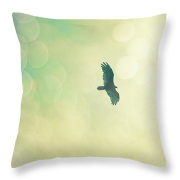Throw Pillow featuring the photograph Soar by Melanie Alexandra Price