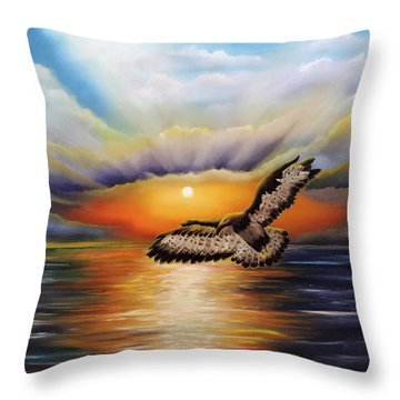Soaring High Throw Pillow