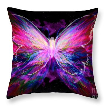 Soaring Love Throw Pillow