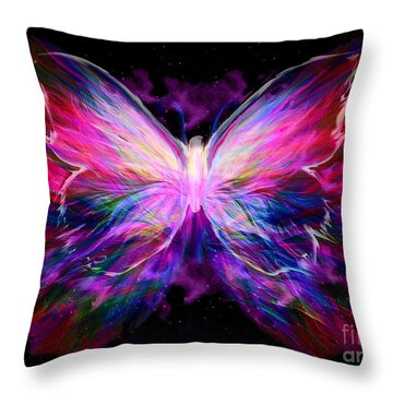 Soaring Love Throw Pillow