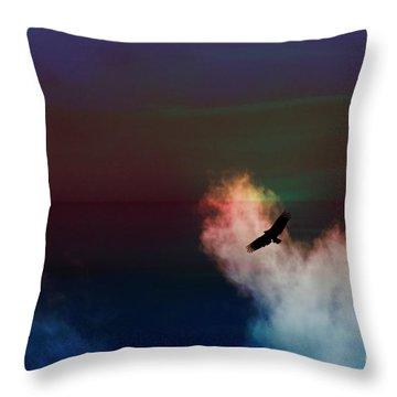 Soaring, Soaring Throw Pillow by Al Bourassa
