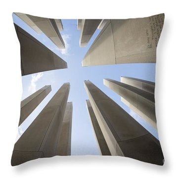 Soaring Words Throw Pillow