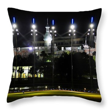 Soccer  Anyone Throw Pillow by David Lee Thompson