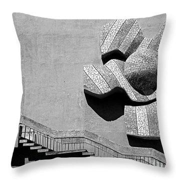 Ceausescu Throw Pillows