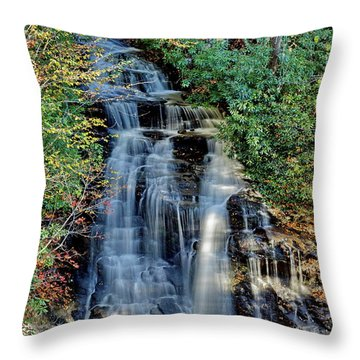 Soco Falls In Fall Throw Pillow