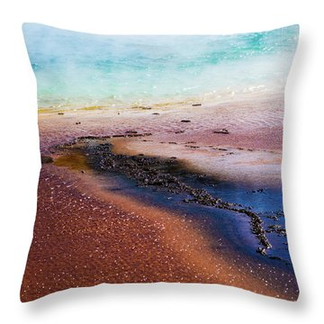 Throw Pillow featuring the photograph Soda Water by Jeffrey Jensen