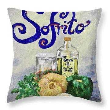 Sofrito Throw Pillow
