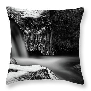 soft and sharp at the Bode, Harz Throw Pillow