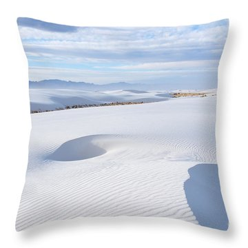 Soft Enchantment Throw Pillow