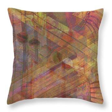 Soft Fantasia Throw Pillow by John Beck