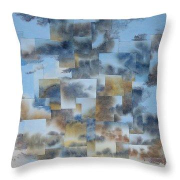 Soft Light Throw Pillow by Jeni Bate