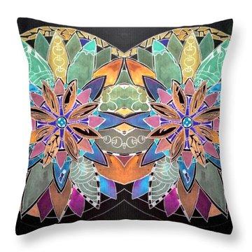 Soft Mandala Throw Pillow