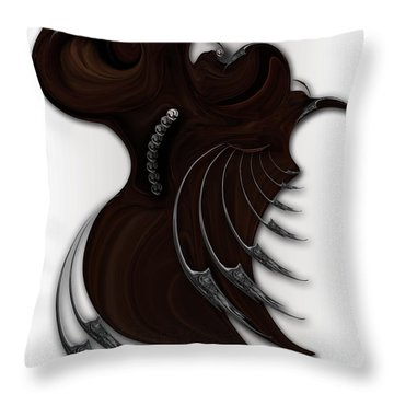 Soft Metamorphosis Throw Pillow
