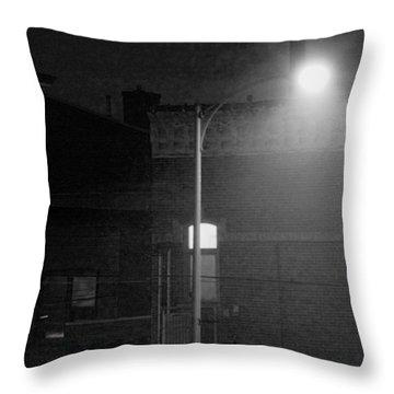 Soft Night Glow Throw Pillow