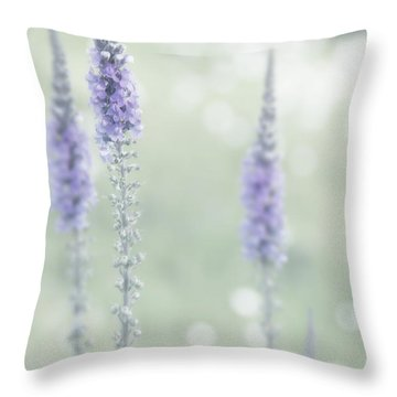 Soft Pastels Throw Pillow by Svetlana Sewell