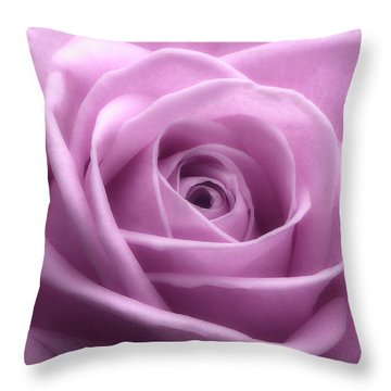 Soft Pink Beauty 3 Throw Pillow