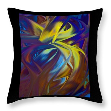 Soft Reality 221 Throw Pillow