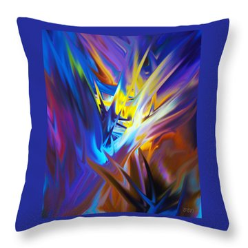 Soft Reality 978 Throw Pillow