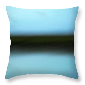 Throw Pillow featuring the photograph Soft Reflections by Marilyn Hunt