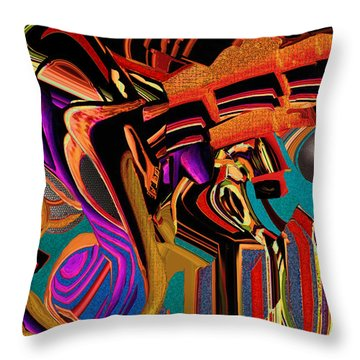 Soft Scape Throw Pillow