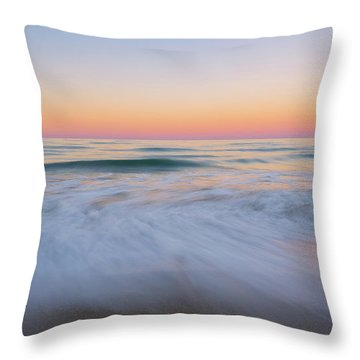 Throw Pillow featuring the photograph Soft Sunset  by Michael Ver Sprill