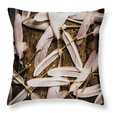 Soft Symbol Of Peace And Hope Throw Pillow