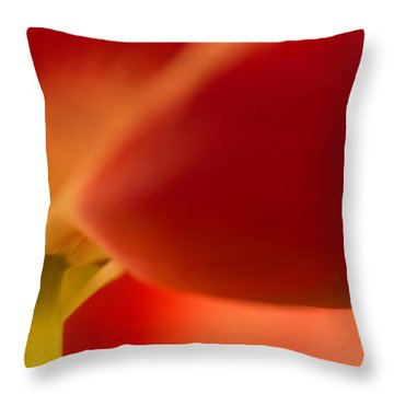 Soft Tulip Throw Pillow