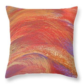 Soft Wheat Throw Pillow