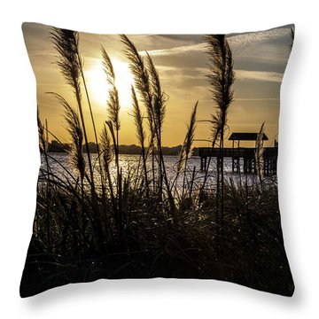 Throw Pillow featuring the photograph Soft Wind by Eric Christopher Jackson
