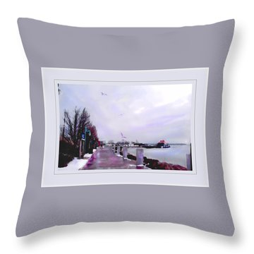 Throw Pillow featuring the photograph Soft Winter Day by Felipe Adan Lerma
