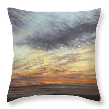 Softly, As I Leave You Throw Pillow