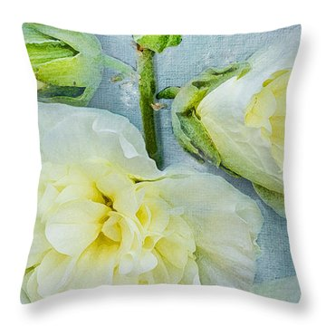 Throw Pillow featuring the photograph Softly by Betty LaRue