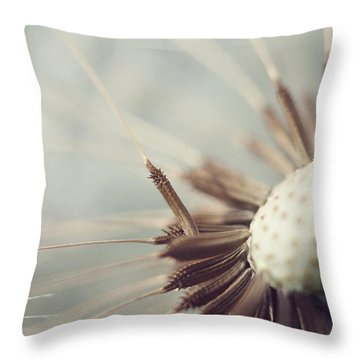 Throw Pillow featuring the photograph Softly Slowly by Amy Tyler