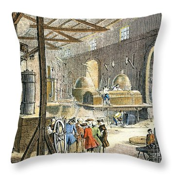 Soho Engineering Works Throw Pillow by Granger