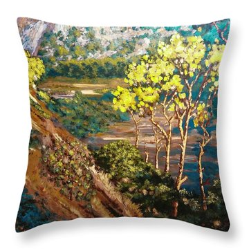 Soil And Soul Throw Pillow
