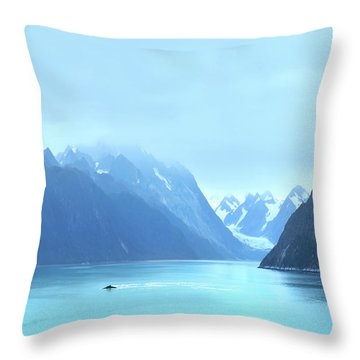 Throw Pillow featuring the photograph Sojourn by John Poon