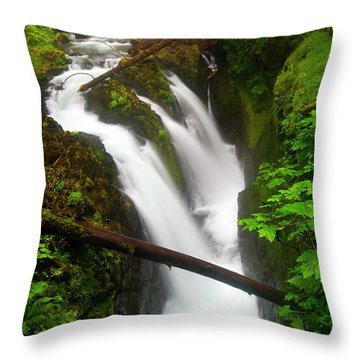 Sol Duc Rush Throw Pillow